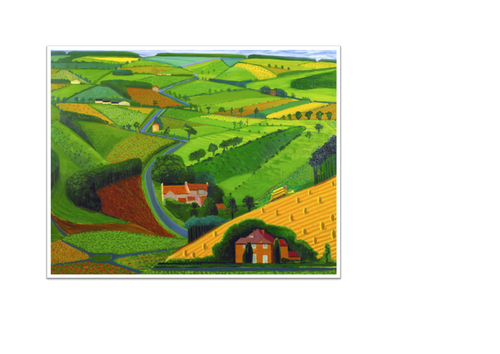 David Hockney Landscapes Art MTP And Resources By