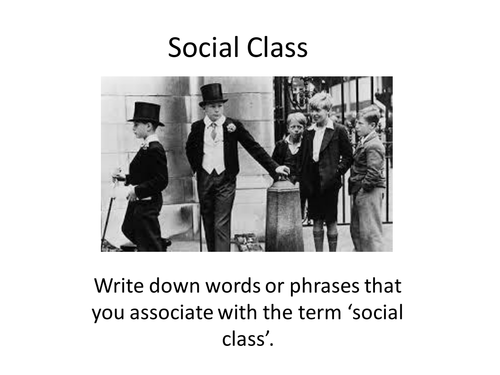 A Game of Social Class