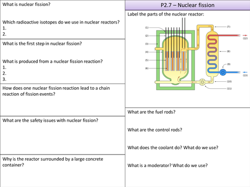 Worksheets Fission And Fusion Worksheet p2 7 nuclear fission and fusion summary by physicsteacher55 teaching resources tes