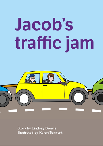 Jacob's Traffic Jam storybook | Teaching Resources