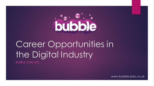 Career Opportunities in the Digital Industry