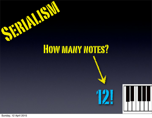 Serialism explained - in Plain English!