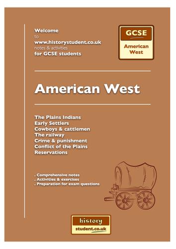Pre 2016: AQA GCSE History A: Unit 2A -  American West