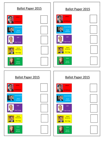 Assembly Powerpoint on The General Election