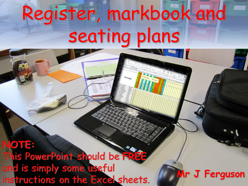 MarkBook, Register & Seating Plan