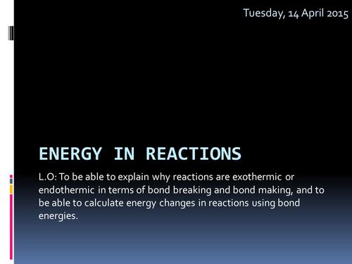 AQA Chemistry C3 Unit 3