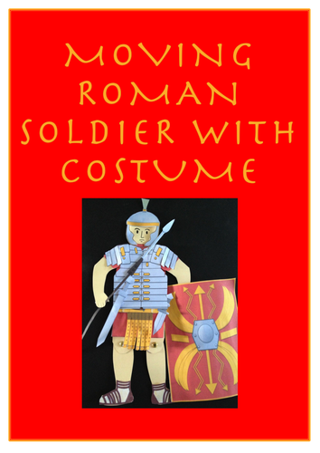 Roman Soldier to make - Romans Topic, Latin, History Craft Activity - Invaders and Settlers
