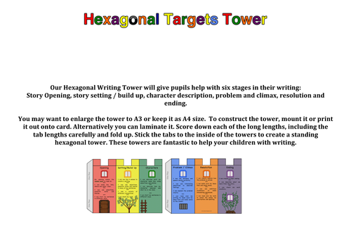 Writing Targets Tower