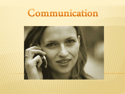 Communication - PHSE