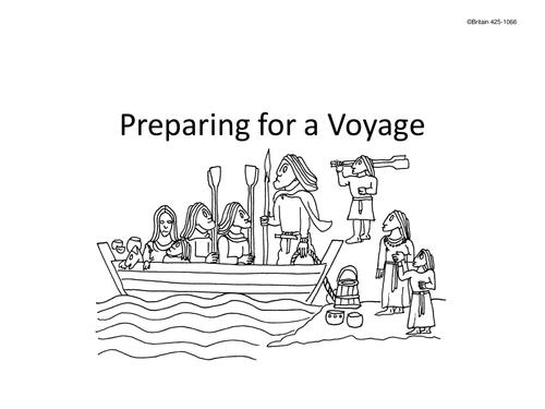 Preparing for an Anglo Saxon or Viking Voyage