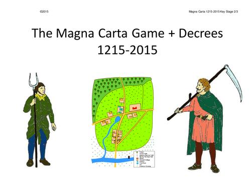 Magna Carta Whole Class Interactive Game KS2/3