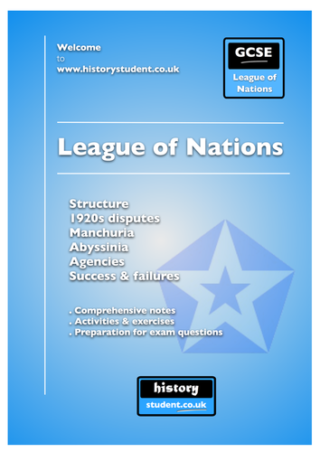 GCSE History: International Relations - League of Nations
