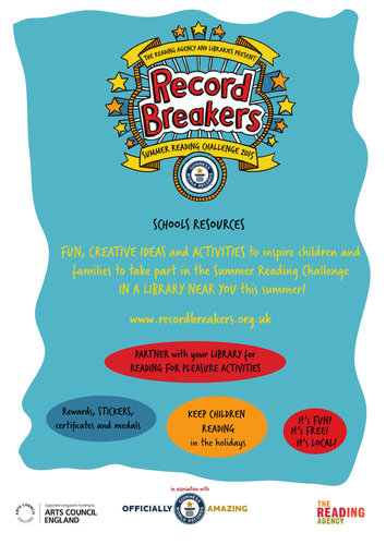 Summer Reading Challenge 2015 Record Breakers