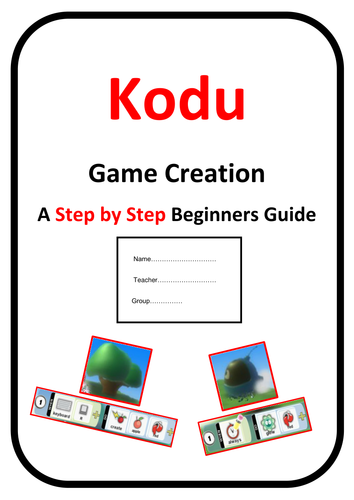 3D Game Design in Kodu (Basic Guide)