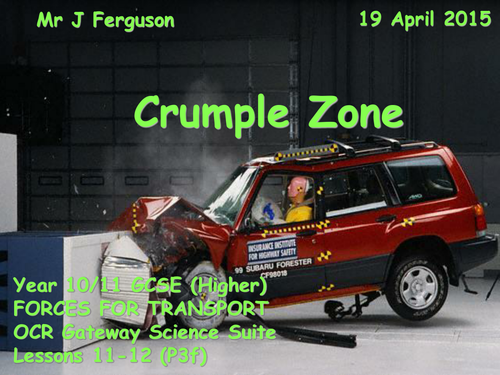 P3f Crumple Zone