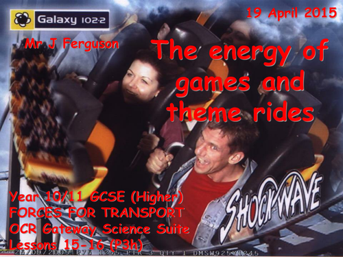 P3h The energy of games and theme rides