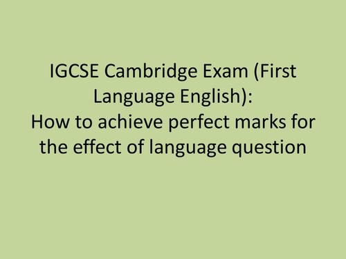 English Exam AQA Board Paper 2 Section?