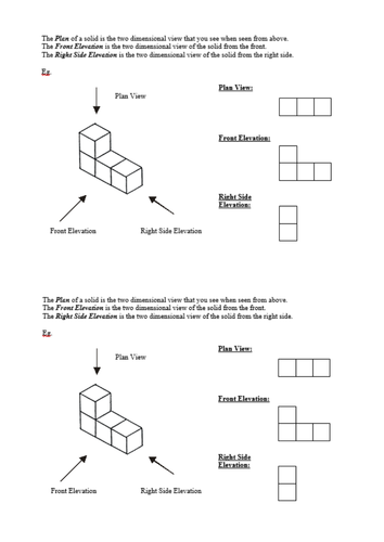 Plan Elevation Of A Cuboid : Plans elevations and isometric drawing by hollyhead