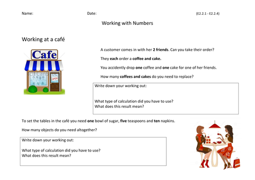 Working with Numbers Entry 2