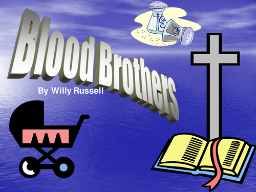 Blood brothers essay dramatic devices