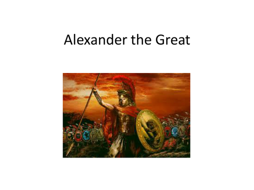 Alexander the Great PowerPoint and Worksheet by evanderheyden10 – Alexander the Great Worksheet