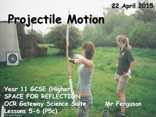 P5c Projectile Motion