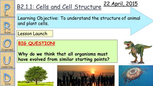 AQA B2 Cells and Diffusion 2014/15