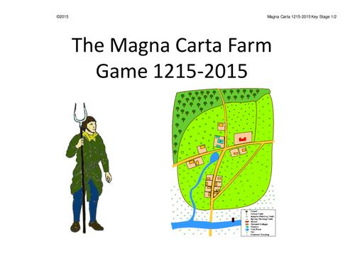 Magna Carta Farm Whole Class Interactive Game KS1/2