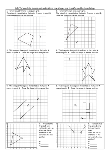 3 differentiated worksheets Y6 translating translation ...