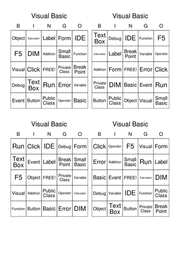 Visual Basic Simple Calculator Lesson Resources