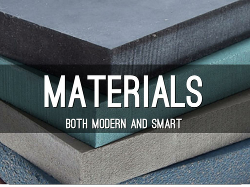 Smart and modern materials