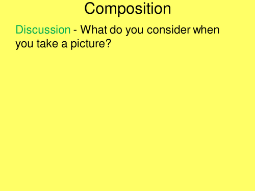 Rule of Thirds and Composition Tips for Photography/art