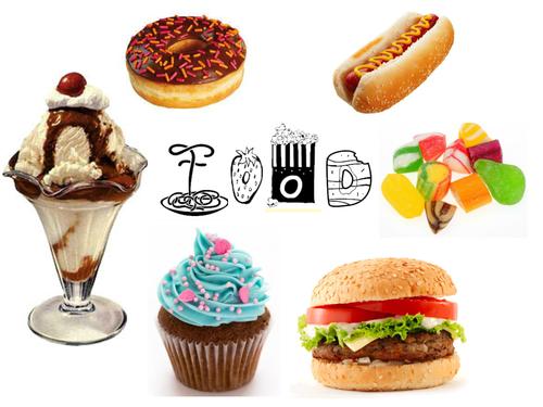 GCSE Art- Food