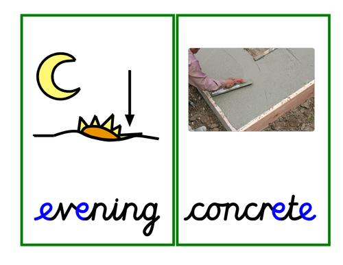 Phase 5 e-e grapheme [magic e, split digraph]: activities, and presentation.