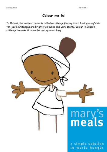 Mary's Meals - Saving Grace