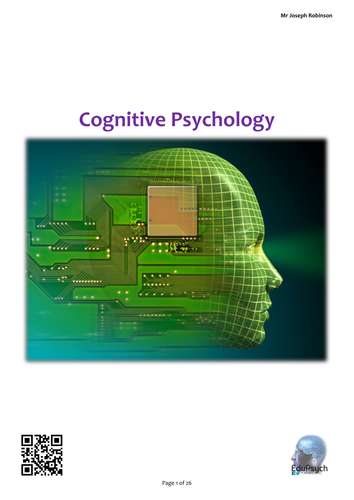 Cognitive Psychology Revision Guide Complete (Psychology AQA-A)