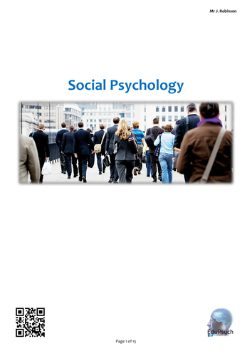 Social Psychology Revision Guide Complete (Psychology AQA-A)