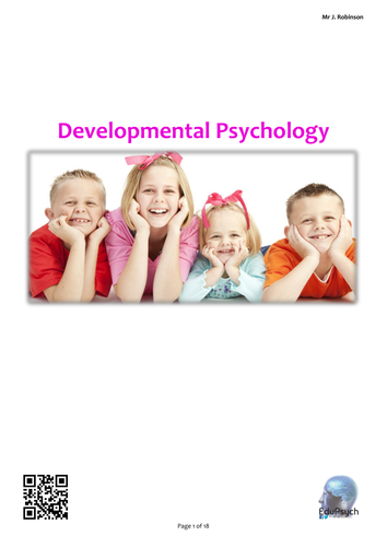 Developmental (Attachment) Psychology Revision Guide (AQA-A)