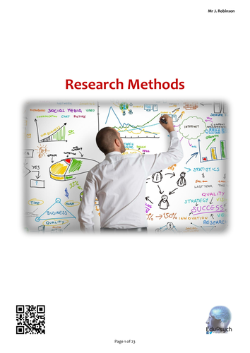Research Methods (Psychology) Revision Guide (AQA-A)
