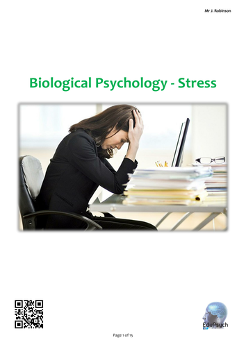 Biological Psychology (Stress) Revision Guide (AQA-A)