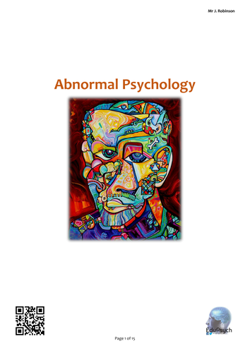 Abnormal Psychology Revision Guide (AQA-A)