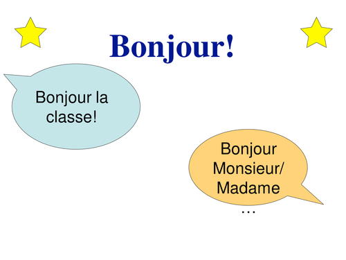 """easyMFL Year 6 French Unit 19 """"At school (À l'école)"""" SOL and Complete Resources"""