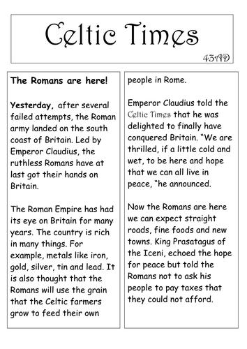 Roman conquest of britain essay help