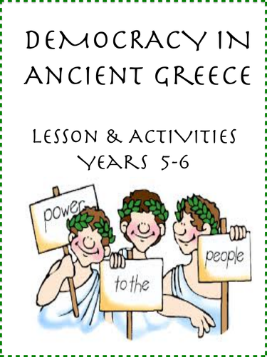 Ancient Greek Democracy Fun Lesson (Yrs 5-6)