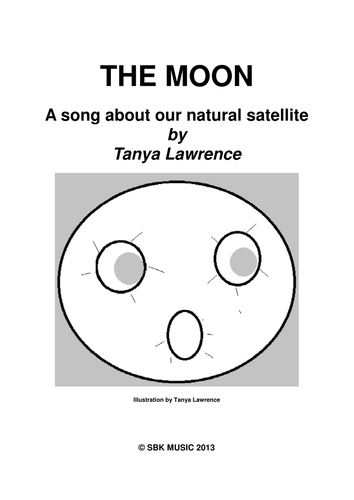 THE MOON a song about our natural satellite