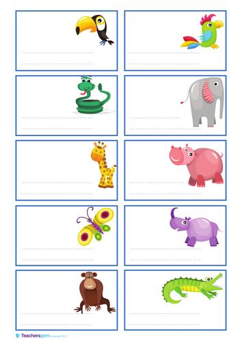 Coat Peg Labels By Teachersgem Teaching Resources Tes