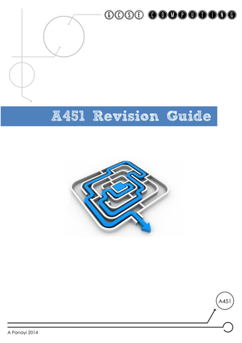 GCSE  Computing Revision Guide OCR - 2012 Spec