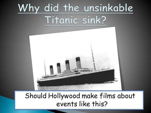Who was to blame for the titanic disaster essay