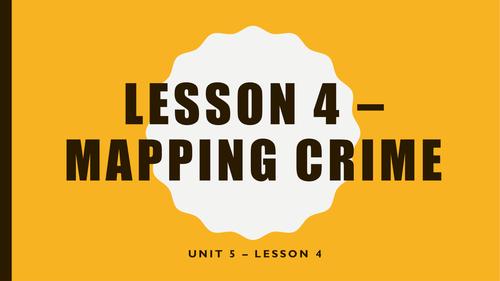 Unit 1 - Crime
