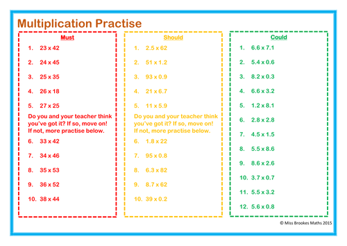 Multiplying Decimals Worksheet by Stacy3010 Teaching Resources TES – Decimal Multiplication Worksheets
